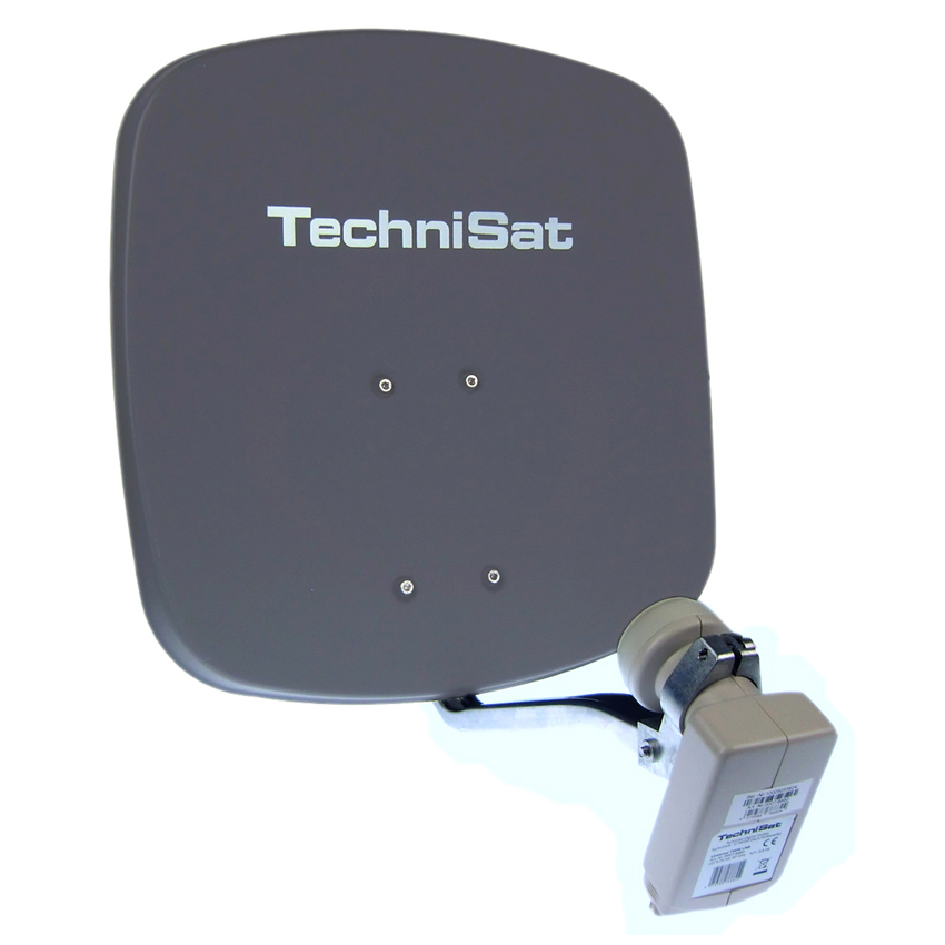 technisat digidish 45 grau sat anlage twin lnb aluminium. Black Bedroom Furniture Sets. Home Design Ideas